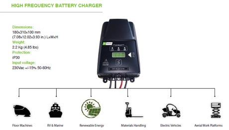 313 DEEP Cycle BATTERY CHARGERS